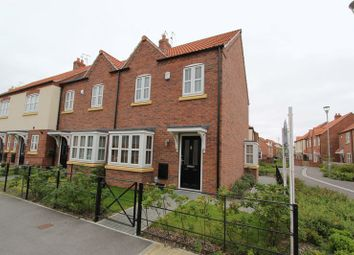 Thumbnail 3 bed end terrace house for sale in Shinewater Park, Kingswood, Hull