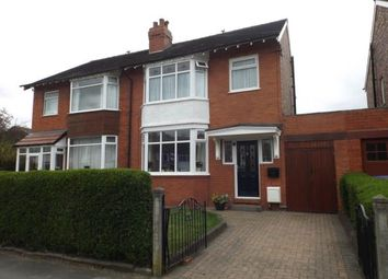 Thumbnail 3 bed semi-detached house for sale in Beaufort Road, Great Moor, Stockport, Cheshire