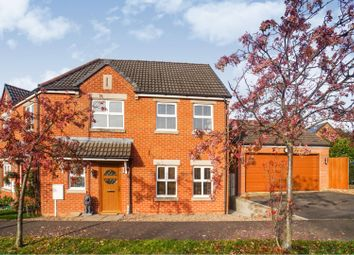 Thumbnail 3 bed end terrace house for sale in Manrico Drive, Lincoln