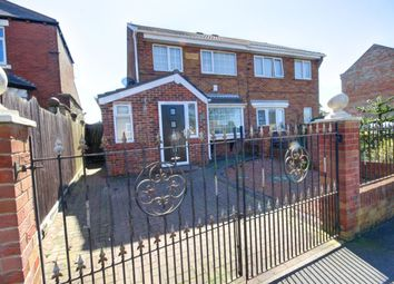 Thumbnail 3 bed semi-detached house for sale in Elm Place, Newbottle, Houghton Le Spring