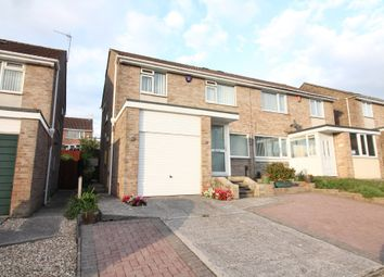 Thumbnail 3 bedroom semi-detached house for sale in Canefields Avenue, Plympton, Plymouth