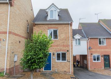 Thumbnail 3 bed link-detached house for sale in Spring Close, Irthlingborough, Wellingborough