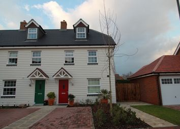 Thumbnail 3 bed semi-detached house to rent in Locks Yard, Headcorn, Kent