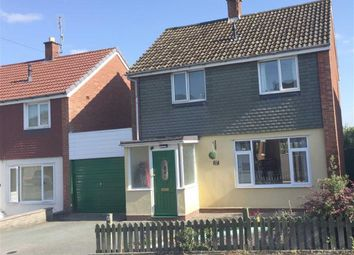 Thumbnail 3 bed detached house for sale in 17, Brookfield Road, Welshpool, Powys