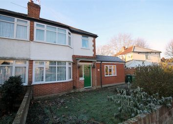 Thumbnail 4 bed semi-detached house to rent in Petersfield Road, Staines-Upon-Thames, Surrey