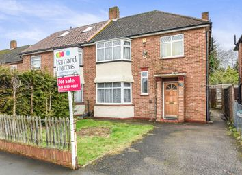 Thumbnail 3 bed semi-detached house for sale in Bexhill Close, Feltham