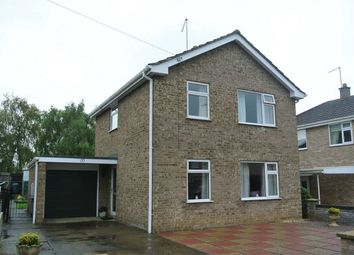 Thumbnail 3 bed detached house for sale in Torfrida Drive, Bourne, Lincolnshire