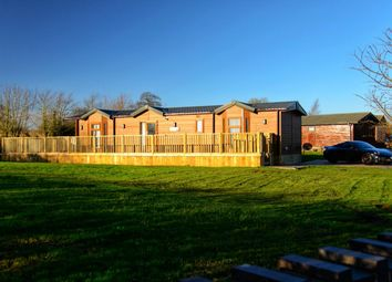Thumbnail 2 bed lodge for sale in Back Road, Newton On Derwent, York