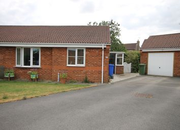 Thumbnail 2 bed semi-detached bungalow for sale in The Crescent, Burton Fleming