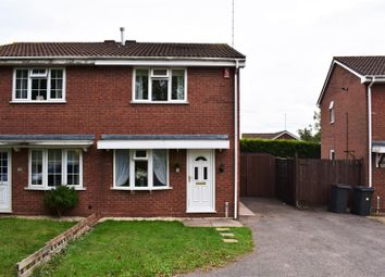 Thumbnail 2 bed semi-detached house for sale in Auden Close, Galley Common, Nuneaton