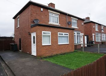 Thumbnail 2 bed semi-detached house to rent in High View North, Wallsend