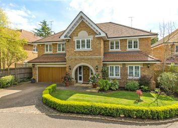 Thumbnail 5 bed detached house for sale in Fernlea Place, Cobham, Surrey