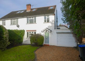 Thumbnail 4 bed semi-detached house to rent in Cabrera Close, Virginia Water