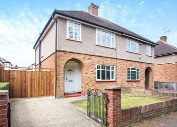 Thumbnail 3 bed semi-detached house for sale in Newlands Walk, Watford
