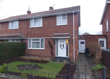Thumbnail 3 bed semi-detached house for sale in Welbeck Avenue, Darlington