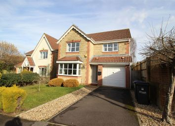 Thumbnail 4 bed detached house for sale in Fallow Field Close, Chippenham