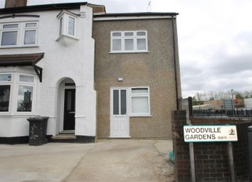 Thumbnail 2 bed terraced house to rent in Woodville Gardens, London