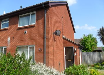 Thumbnail 1 bed semi-detached house to rent in Chickerell Close, Throop