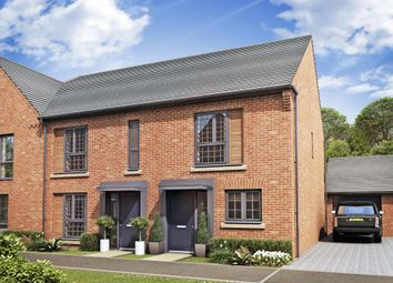 "Thumbnail 2 bedroom semi-detached house for sale in ""Wiltshire"" at Louisburg Avenue, Bordon"