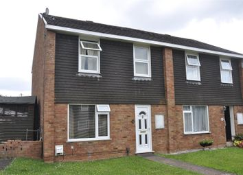 Thumbnail 3 bed end terrace house for sale in Langaton Gardens, Pinhoe, Exeter
