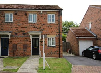 Thumbnail 2 bed semi-detached house to rent in Horton Close, Consett