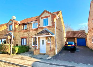 Thumbnail 3 bed semi-detached house for sale in Millbank Place, Kents Hill, Milton Keynes