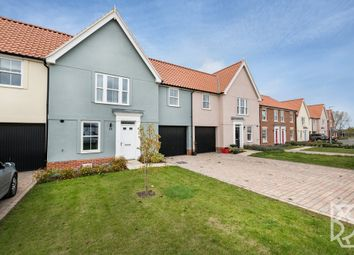Thumbnail 3 bed terraced house for sale in Strawberry Avenue, Lawford, Manningtree