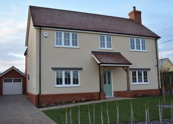 Thumbnail 4 bedroom detached house for sale in The Street, Assington, Sudbury