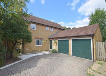 Thumbnail 4 bedroom detached house for sale in Fernan Dell, Crownhill, Milton Keynes
