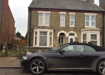 Thumbnail 3 bed end terrace house to rent in Padholme Road, Peterborough