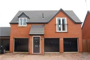 Thumbnail 2 bed flat to rent in Nine Arches Way, Thrapston, Kettering
