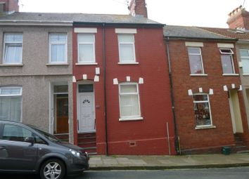 Thumbnail 3 bed terraced house to rent in Phyllis Street, Barry