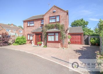 Thumbnail 4 bed detached house for sale in The Orchard, Redisham, Beccles