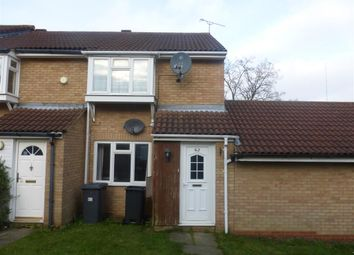 Thumbnail 2 bedroom terraced house for sale in Coltsfoot Green, Luton