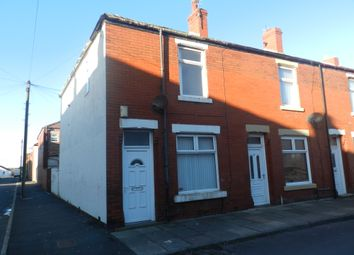 Thumbnail 2 bed end terrace house to rent in Truro Street, Blackpool