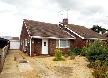Thumbnail 3 bedroom semi-detached house for sale in Grimston, King's Lynn, Norfolk