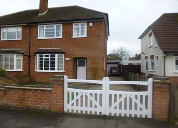 Thumbnail 3 bed semi-detached house for sale in Treaty Road, Glenfield, Leicester.