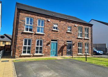 Thumbnail 3 bed semi-detached house for sale in Blackrock Walk, Newtownabbey