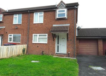 Thumbnail 2 bed semi-detached house for sale in Dinchope Drive, Telford