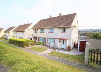Thumbnail 3 bed terraced house to rent in Foulston Avenue, Plymouth