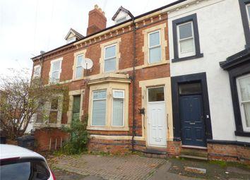 Thumbnail 5 bed terraced house for sale in Swinburne Street, Derby, Derbyshire