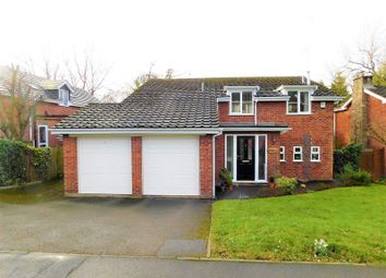 Thumbnail 4 bed detached house for sale in Meadow Ridge, Stafford