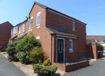Thumbnail 2 bed semi-detached house to rent in Moorhouse Close, Wellington, Telford