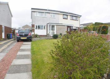 Thumbnail 3 bed semi-detached house for sale in Dornie Close, Stewarton