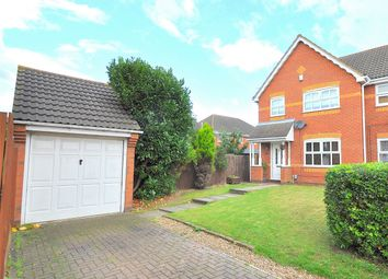 Thumbnail 3 bed semi-detached house for sale in Whinfell Close, Stukeley Meadows, Huntingdon, Cambridgeshire