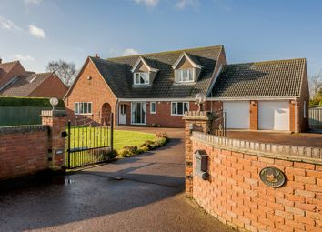 Thumbnail 3 bed detached house for sale in High Oak Lane, Wicklewood, Wymondham