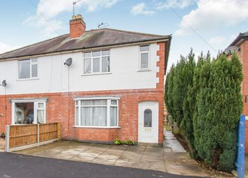 Thumbnail 2 bed semi-detached house for sale in East Avenue, Whetstone, Leicester