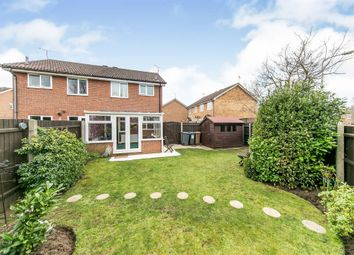 Thumbnail 2 bed semi-detached house for sale in Blackthorn Close, Purdis Farm, Ipswich