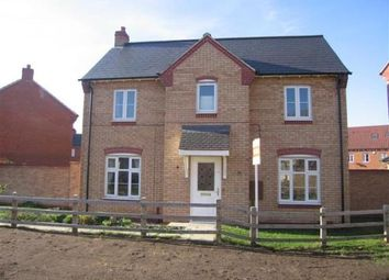Thumbnail 3 bed detached house to rent in Leveret Chase, Witham St. Hughs, Lincoln