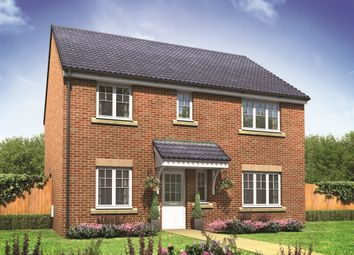 "Thumbnail 4 bed detached house for sale in ""The Marlborough"" at Cawston Road, Aylsham, Norwich"